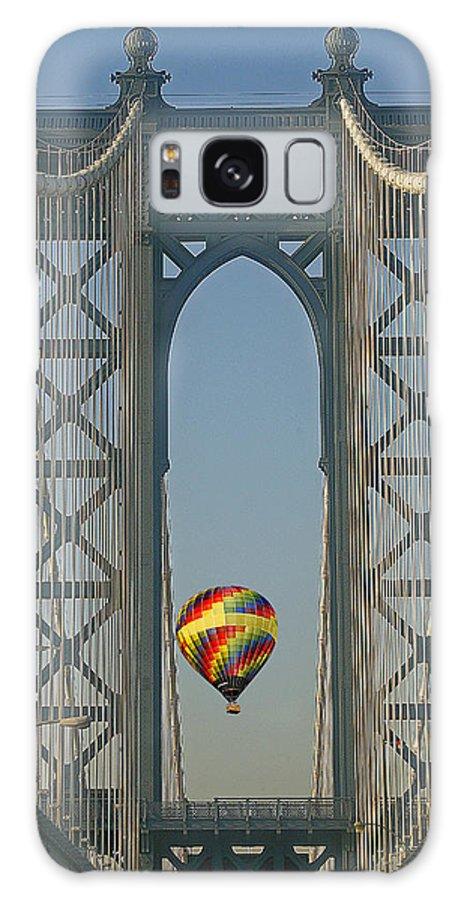 America Galaxy S8 Case featuring the photograph Hot Air Balloon by Susan Candelario