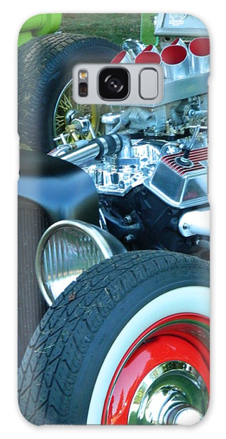 Hot Rod Galaxy S8 Case featuring the photograph Hot Rod by Nicki Bennett