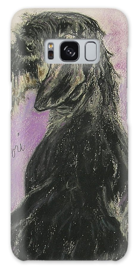 Dachshund Galaxy S8 Case featuring the drawing Hot Wired by Cori Solomon