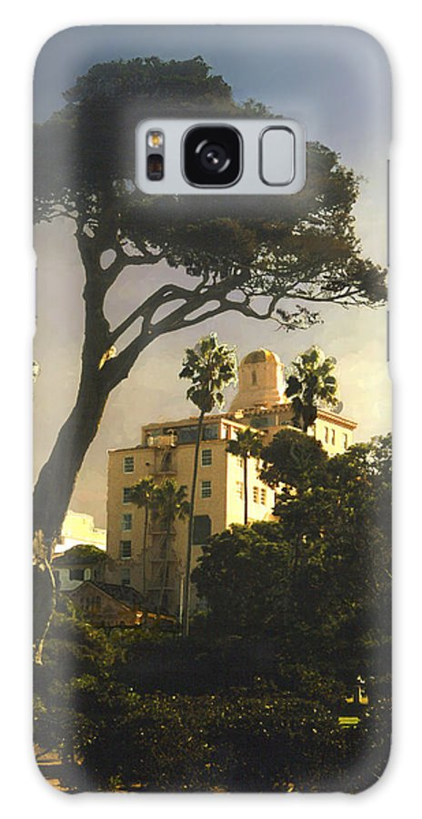 Landscape Galaxy Case featuring the photograph Hotel California- La Jolla by Steve Karol
