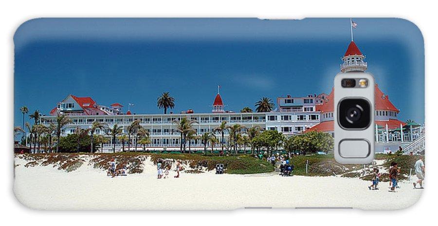 Hotel Galaxy S8 Case featuring the photograph Hotel Del Coronado by Micah May