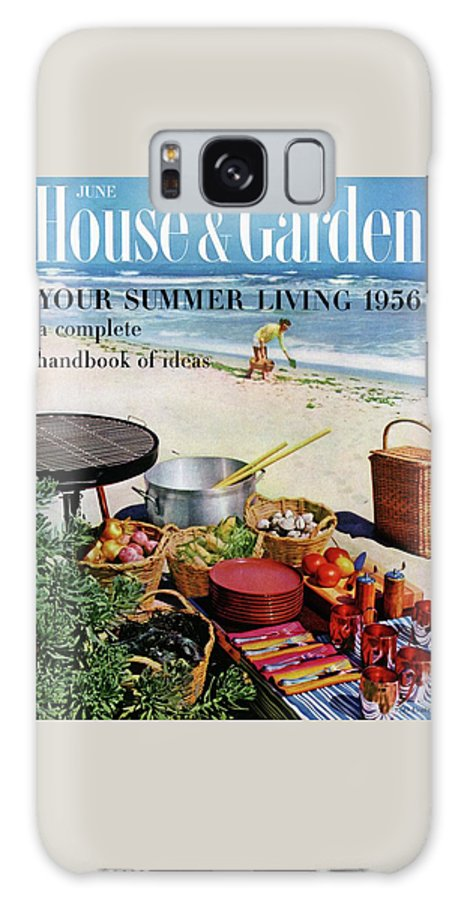 Entertainment Galaxy S8 Case featuring the photograph House And Garden Ideas For Summer Issue Cover by Tom Leonard