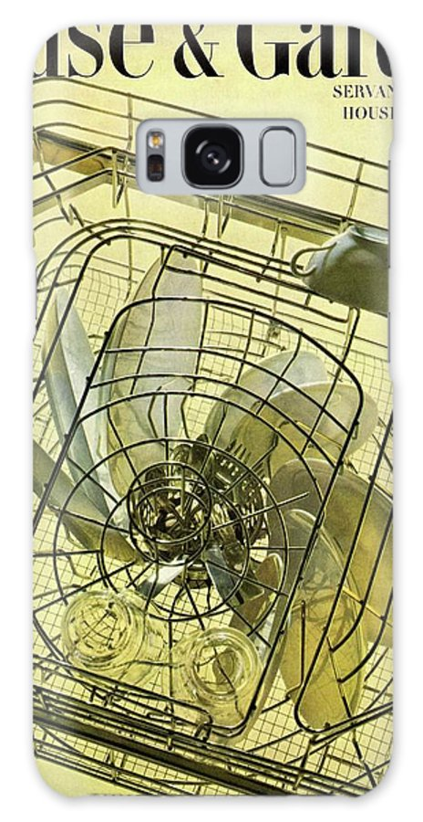 House And Garden Galaxy S8 Case featuring the photograph House And Garden Servant Less Living Houses Cover by Herbert Matter