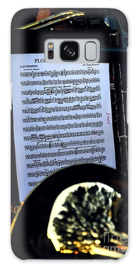 Houston Brass Band Galaxy S8 Case featuring the photograph Houston Brass Band In Concert by Norman Gabitzsch