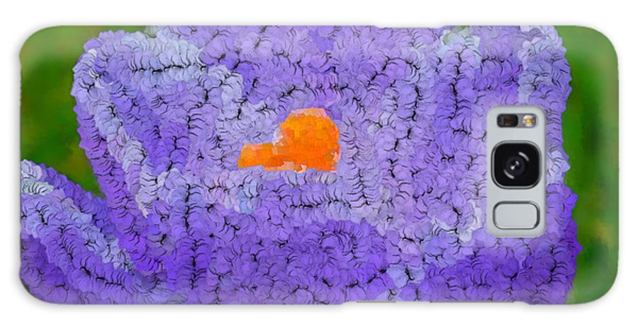 Flowers Galaxy S8 Case featuring the digital art How Things Were by Holley Jacobs