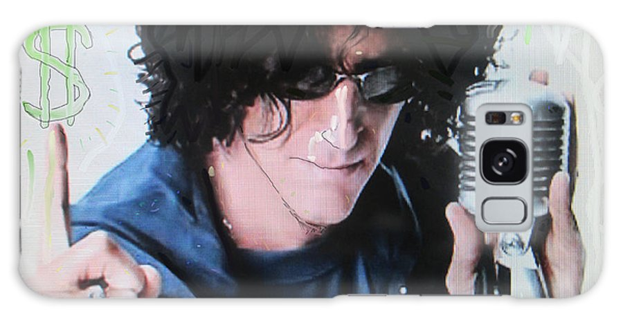 Howard Galaxy S8 Case featuring the photograph Howard Stern - Radio King by David Lovins