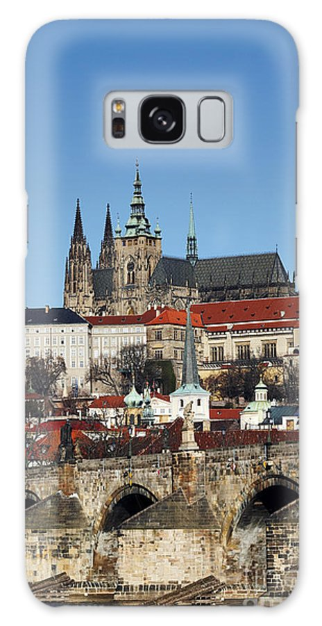 Rare Galaxy S8 Case featuring the photograph Hradcany - Prague Castle by Michal Boubin
