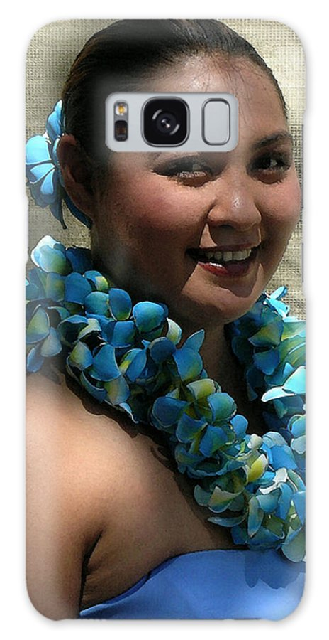 Hawaii Iphone Cases Galaxy S8 Case featuring the photograph Hula Blue by James Temple
