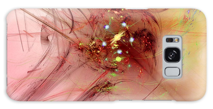 Abstract Galaxy S8 Case featuring the digital art Human After All by Jeff Iverson