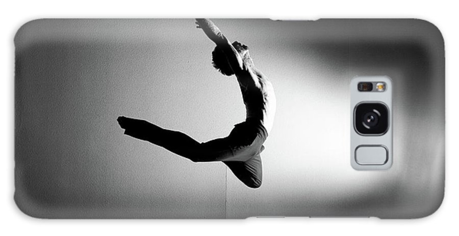 Ballet Dancer Galaxy Case featuring the photograph Human Flight by Amygdala imagery