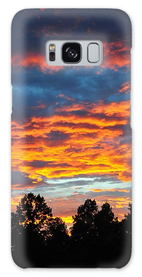 Nature Galaxy S8 Case featuring the photograph Hurricane Mountain Sunset 2 by Sherri Quick