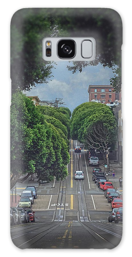 Hyde Galaxy S8 Case featuring the photograph Hyde Street by Tatiana Yurochkina