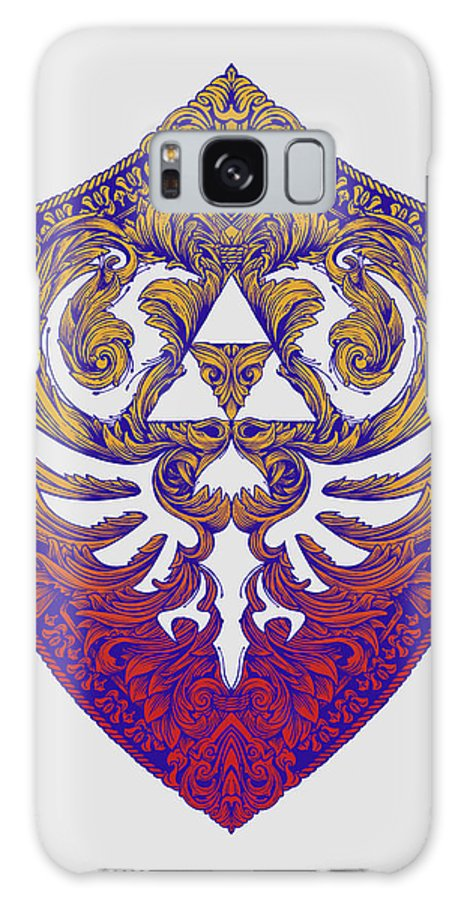 Link Galaxy S8 Case featuring the digital art Hylian Victoriana by Vincent Carrozza