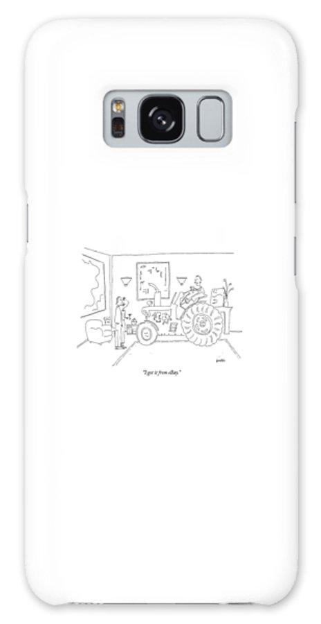 huge selection of e9453 a2be1 I Got It From Ebay Galaxy S8 Case for Sale by Ken Krimstein