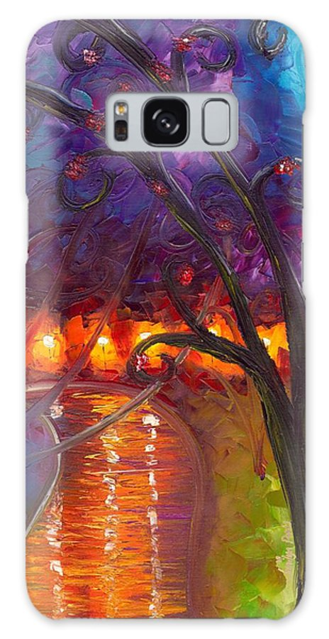 Soul Galaxy S8 Case featuring the painting I Think We're Alone Now by Jessilyn Park