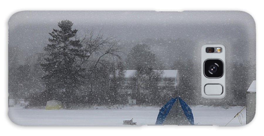 Ice Fishing Derby Galaxy S8 Case featuring the photograph Ice Fishing Derby 4 by Michael Mooney