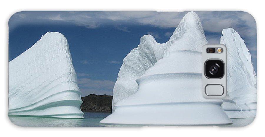 Iceberg Newfoundland Galaxy S8 Case featuring the photograph Icebergs by Seon-Jeong Kim