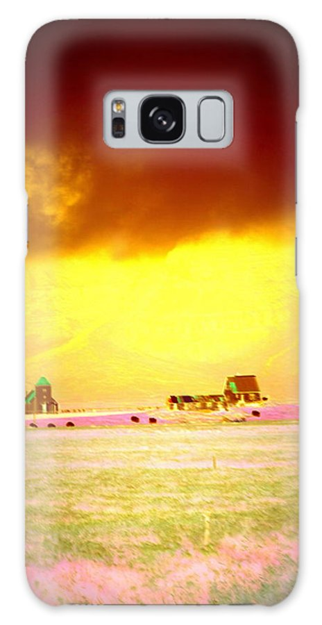 Iceland Galaxy S8 Case featuring the photograph Wanna Live At The Magic Icelandic Countryside, At Least In The Summer by Hilde Widerberg