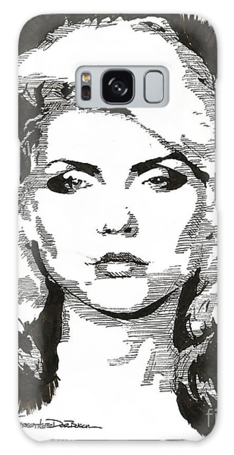 Singer Galaxy S8 Case featuring the painting Icons - Blondie by Jerrett Dornbusch