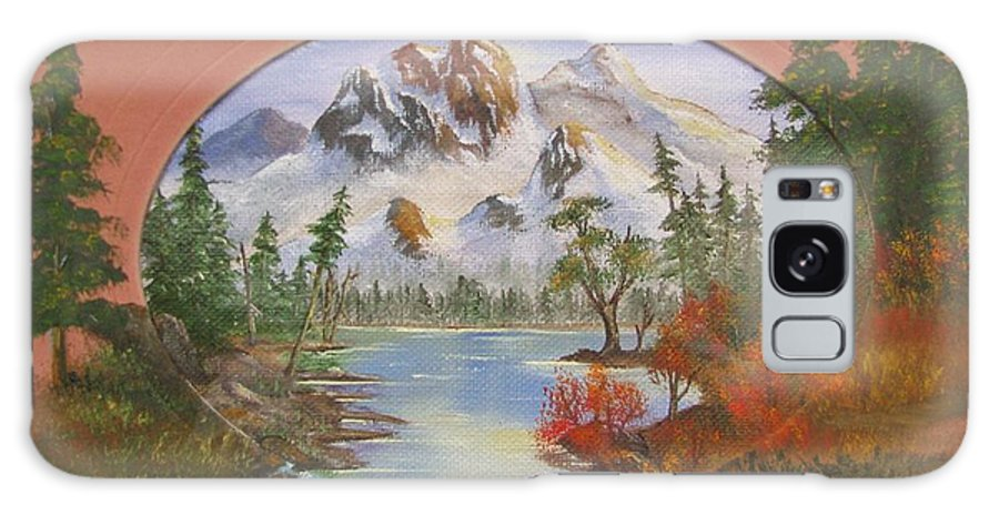 Nature Galaxy S8 Case featuring the painting Idaho by Duane West