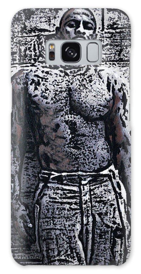 Idris Elba Galaxy S8 Case featuring the painting Idris Elba by Alys Caviness-Gober