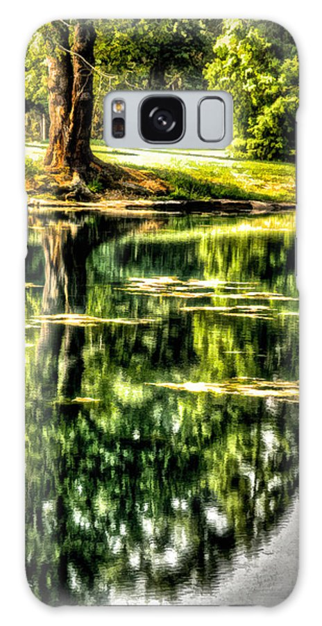 Cincinnati Galaxy S8 Case featuring the photograph Idyll 2 by Michael Schwartzberg