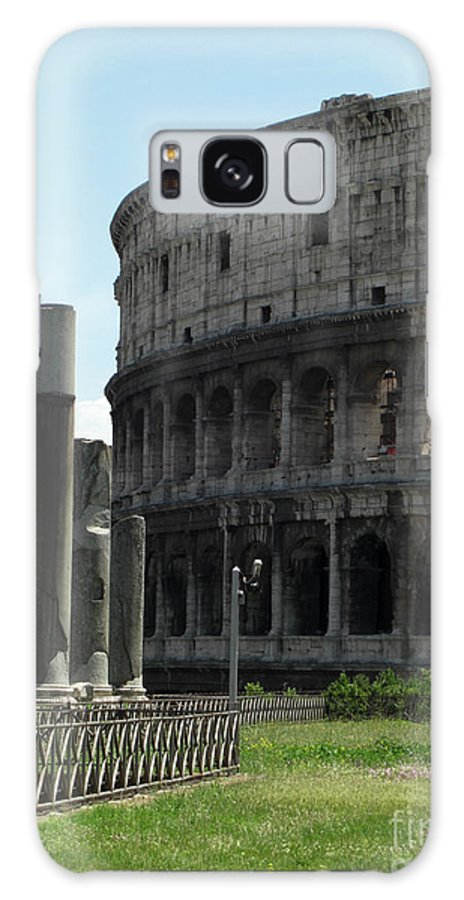 Rome Galaxy S8 Case featuring the photograph Il Collosseo by Deborah Smolinske