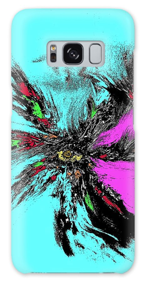 Abstract Galaxy S8 Case featuring the digital art Ilusion 2 by Angela Loya