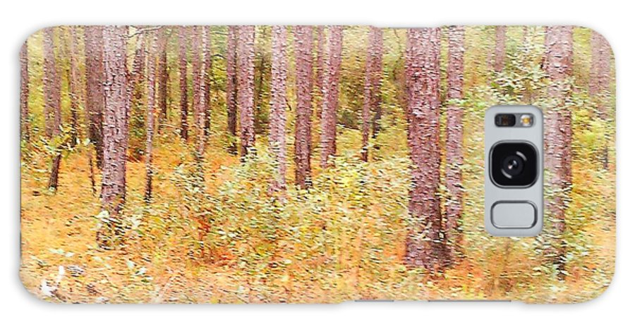 Lancscape Galaxy S8 Case featuring the photograph Imaginary Forest by Fortunate Findings Shirley Dickerson