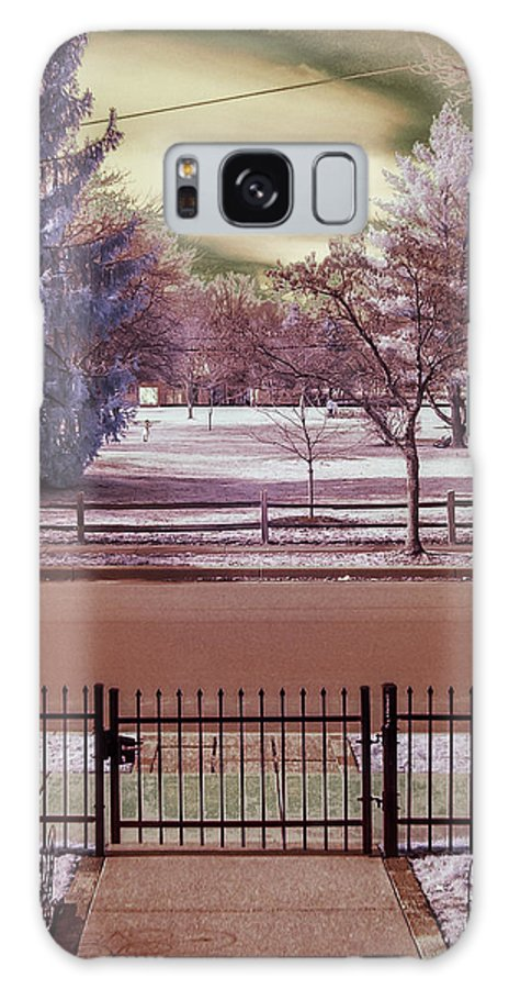 Infrared Galaxy S8 Case featuring the photograph In A Different Light by Joseph Yvon Cote