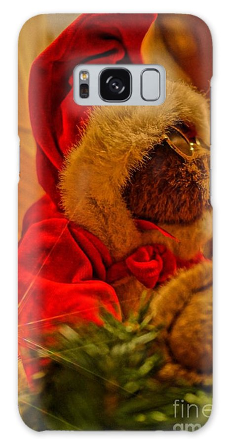 Santa. Christmas Galaxy S8 Case featuring the photograph Incognito by Brian Druggan