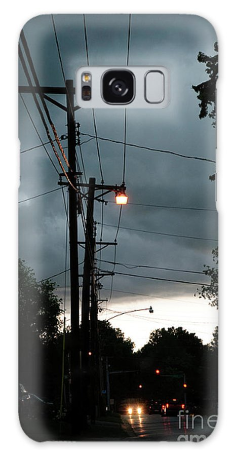 Incoming Storms Galaxy S8 Case featuring the photograph Incoming Storms by Andee Design