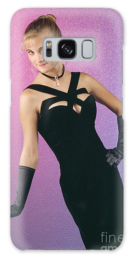 Model Galaxy S8 Case featuring the photograph Indecentproposaldress by Gary Gingrich Galleries