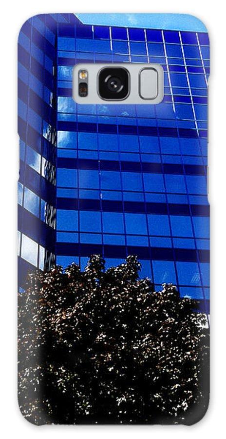 Jamie Lynn Gabrich Galaxy S8 Case featuring the photograph Indigo Tower by Jamie Lynn