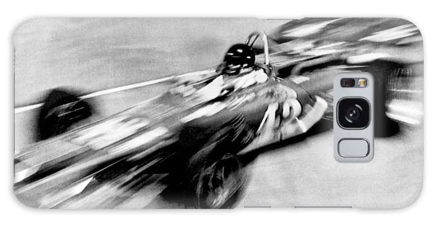 1 Person Galaxy S8 Case featuring the photograph Indy 500 Race Car Blur by Underwood Archives