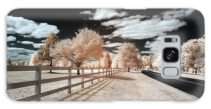 Infrared Park Drive Galaxy S8 Case featuring the photograph Infrared Park Drive by John Rizzuto