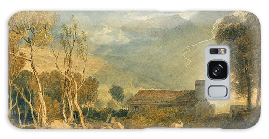 1810 Galaxy S8 Case featuring the painting Ingleborough From Chapel-le-dale by JMW Turner