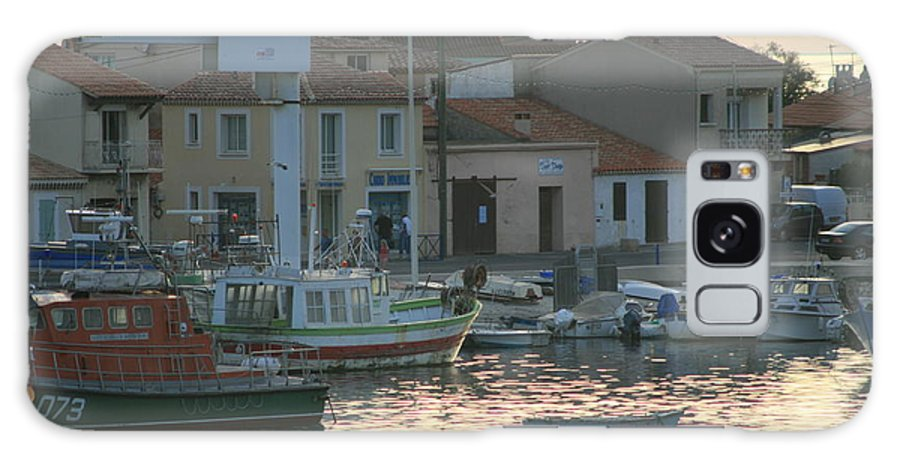 Boats Galaxy S8 Case featuring the photograph Inlet Carol South France by Phoenix De Vries