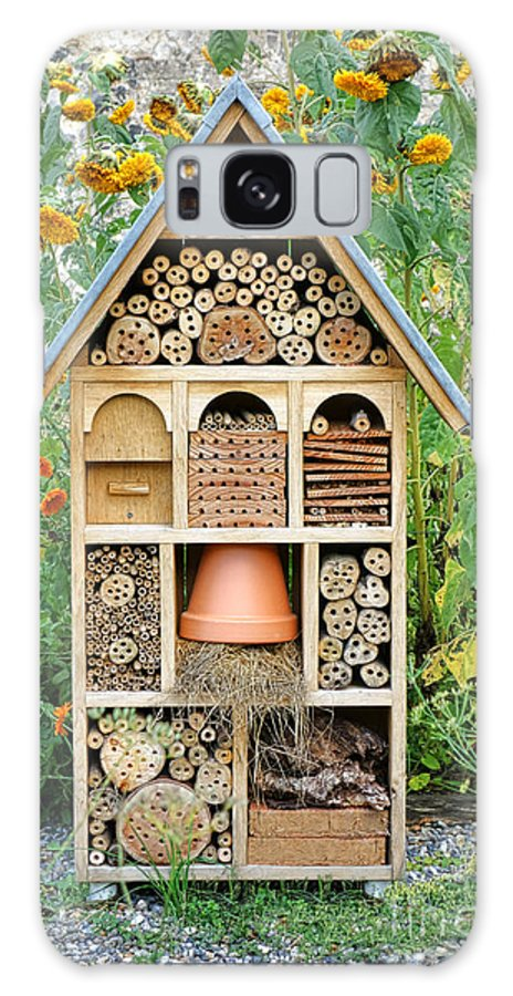 Craftsman Galaxy S8 Case featuring the photograph Insect Hotel by Olivier Le Queinec