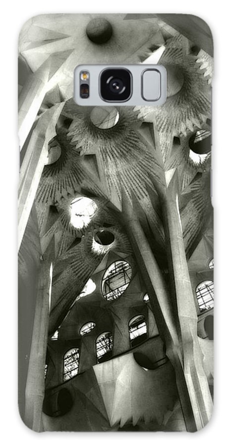 La Sagrada Familia Galaxy S8 Case featuring the photograph inside La Sagrada Familia by Kristi Henigar