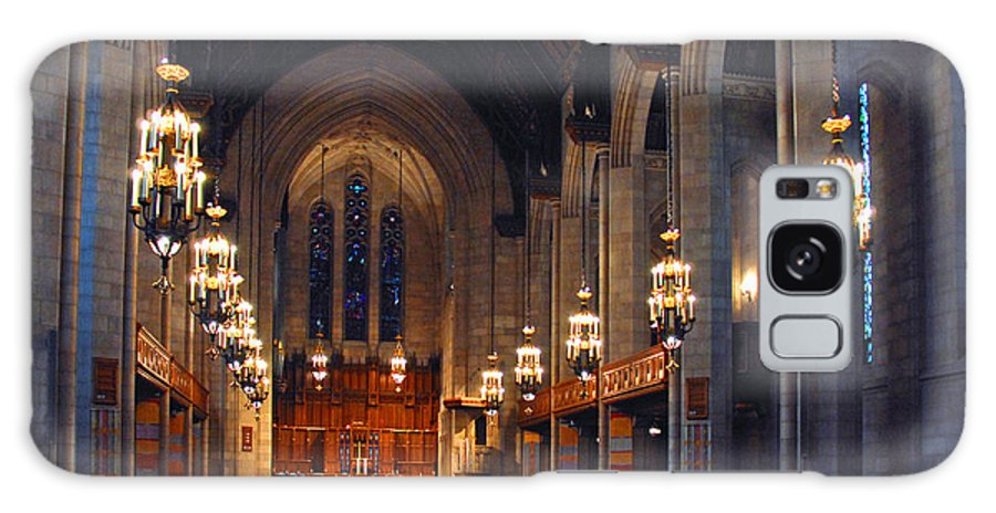 Chicago Galaxy S8 Case featuring the photograph Inside The Cathedral by Lynn Bauer