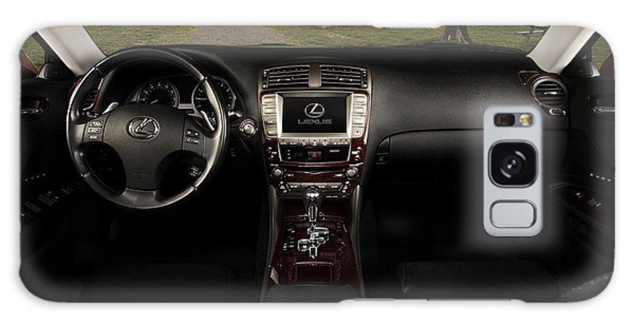 Lexus Galaxy S8 Case featuring the photograph Inside The Lexus Is250 by Josh Balduf
