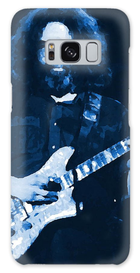 Grateful Dead Galaxy S8 Case featuring the photograph Intense Garcia At Winterland by Ben Upham