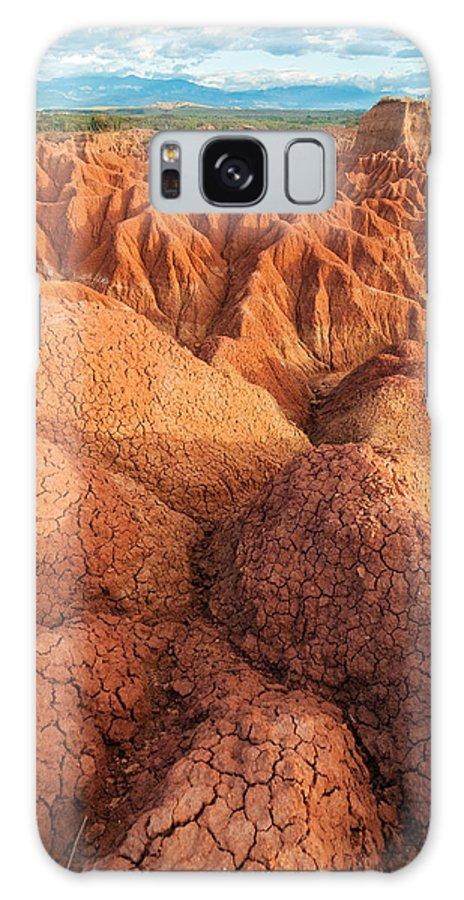 Desert Galaxy S8 Case featuring the photograph Interesting Desert Landscape by Jess Kraft
