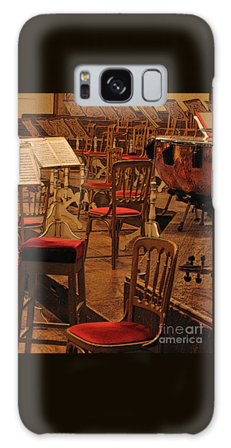Music Galaxy S8 Case featuring the photograph Intermission by Ann Horn