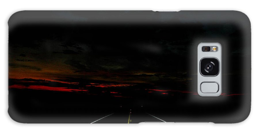 Road Galaxy S8 Case featuring the photograph Into The Dawn by Mark Short