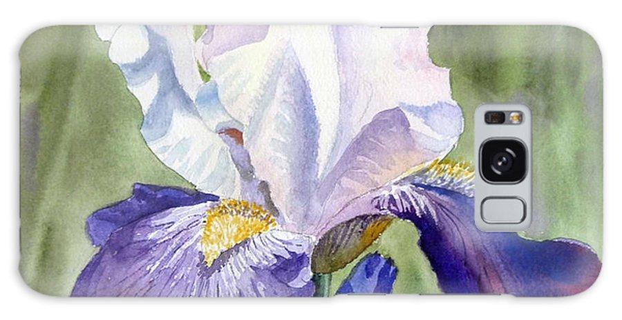Iris Galaxy S8 Case featuring the painting Iris   by Irina Sztukowski