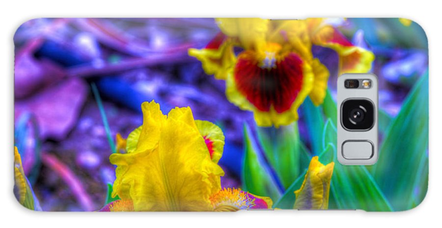 Flower Galaxy S8 Case featuring the photograph Iris #58 by John Derby