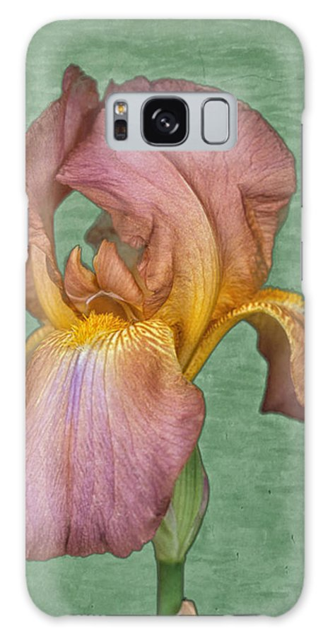 Iris Galaxy Case featuring the photograph Iris in Watercolor by Keith Gondron