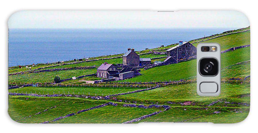 Fine Art Photography Galaxy S8 Case featuring the photograph Irish Farm 1 by Patricia Griffin Brett
